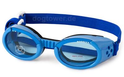 Doggles Hundebrille hellblau