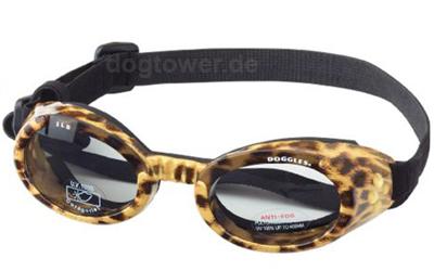 Doggles Hundebrille leopard