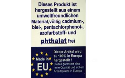 100% in Europa hergestellt