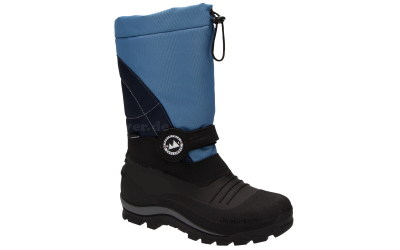 doggo Lucky Outdoor Boot mit Membrane (wasserdicht) schwarz/blau
