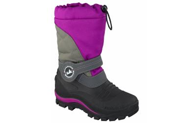 doggo Lucky Outdoor Boot mit Membrane (wasserdicht), schwarz/pink