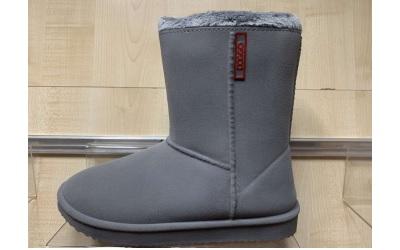 doggo Maya mod. PVC Boot, warmgefüttert, grau