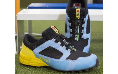 doggo Parcours Agility Schuh, schwarz/blau/gelb