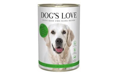 DOGS LOVE Nassfutter Wild mit Kartoffel, Zwetschge & Sellerie, glutenfreies Alleinfuttermittel für Hunde