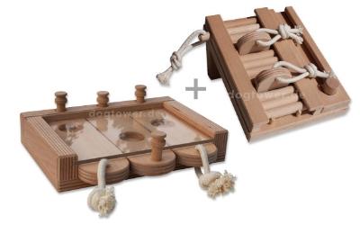 dogtower intelligenzspielzeug set 2. Black Bedroom Furniture Sets. Home Design Ideas