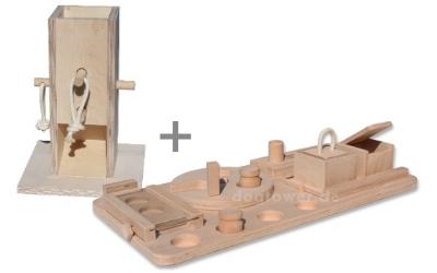 Dogtower Hundespielzeug Set 4