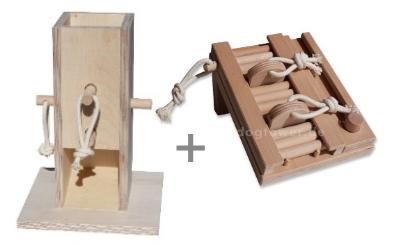 Dogtower Hundespielzeug Set 5