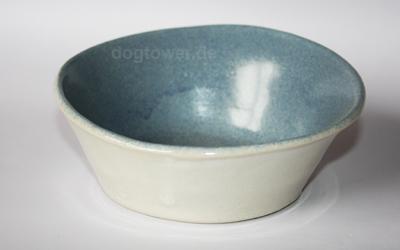 dogtower Keramik Hundenapf BO, blau