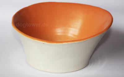 dogtower Keramik Hundenapf BO, orange