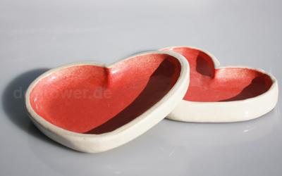 dogtower Keramiknapf Herz