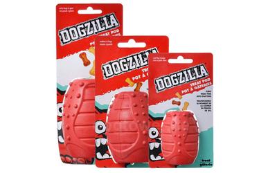 Hundespielzeug in drei Größen erhältlich