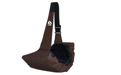 Doxtasy Side Pet Carrier Chocolate Brown