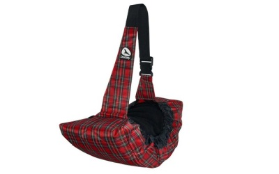 Doxtasy Side Pet Carrier Tartan Red