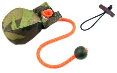 Hunde Dummy Ball, camouflage