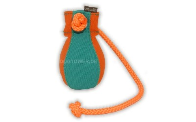 Dummyball, orange/grün