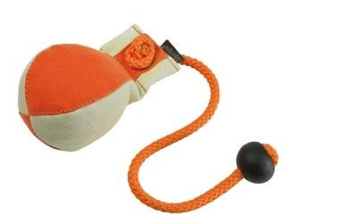 Dummyball, orange/weiss