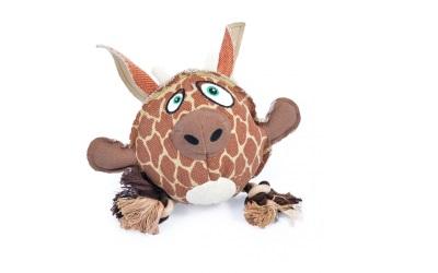 Duvo+ Canvas Hundespielzeug Giraffe