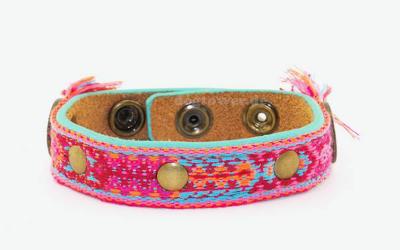 DWAM Dog with a mission Armband Bracelet Rosa