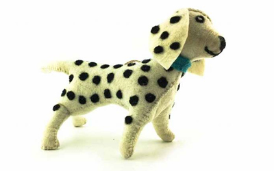 DWAM Dog with a mission Dotty Doggy (100% Wolle)
