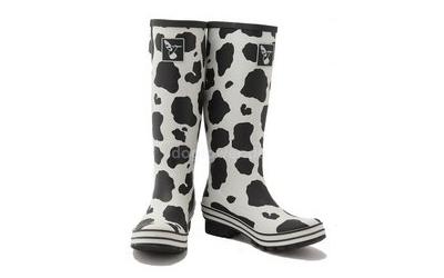 Gummistiefel Cow