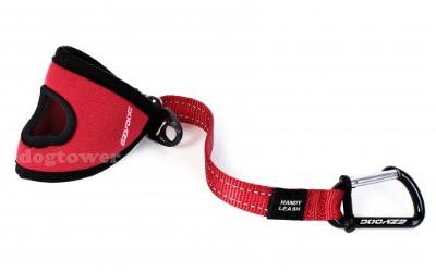 EzyDog Handschlaufe, rot/schwarz