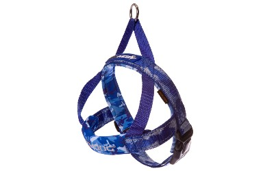 Camo/blau Neoprengeschirr für Hunde