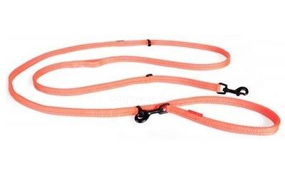 Hundeleine EzyDog Vario6 light, blaze-orange