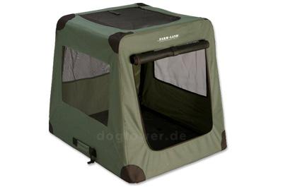 farmland hunde transportbox gr n. Black Bedroom Furniture Sets. Home Design Ideas