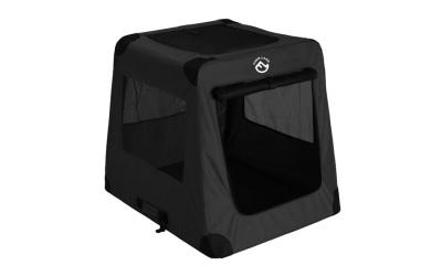 Farmland Hunde Transportbox, schwarz