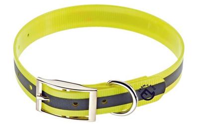 Farm-Land Hunde Halsung Reflektor signalgelb
