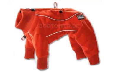 Hunde- Fleeceoverall Hurtta Pro, rot