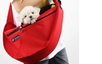 Fundle Hundetragetasche, rot
