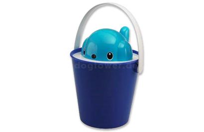 Futtereimer Crock, blau
