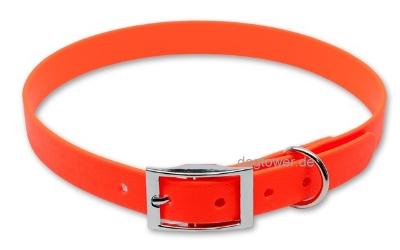 Halsband Deleuxe Orange in 19mm