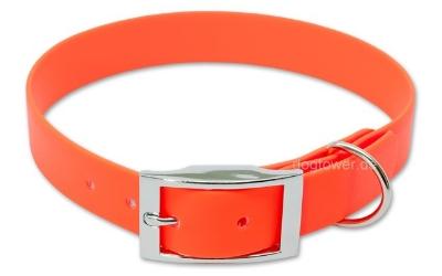 Halsband Biothane Deluxe Orange