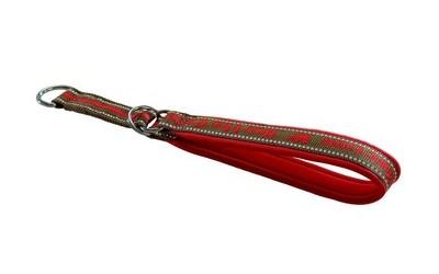 Half Choke Halsband, rot