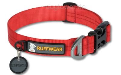 Ruffwear Hundehalsband Hoopie, rot