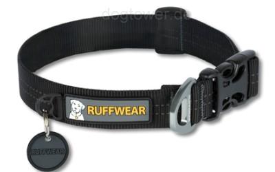 Ruffwear Nylonhalsband Hoopie, schwarz