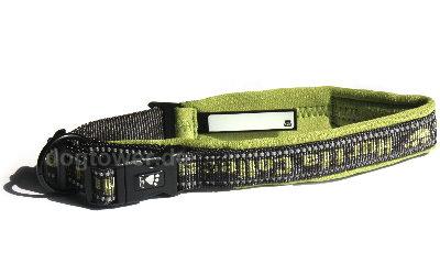 Hurtta Halsband mit Schild zum Notieren des Hundenamen, Adresse etc.