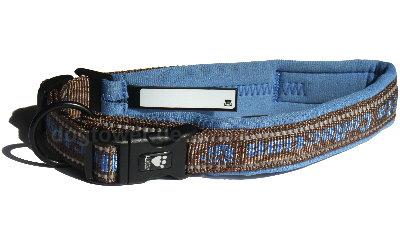 Halsband Hurtta, blau