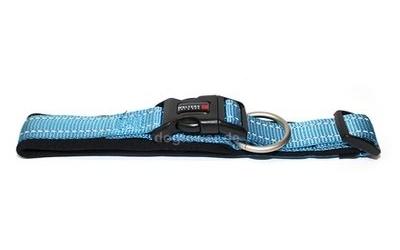 Wolters Halsband Soft & Safe reflektierend, aqua/schwarz