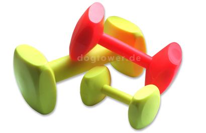 Hundespielzeug Hantel, schwimmfähig