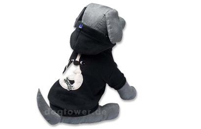 Hoodie Felpa, schwarz