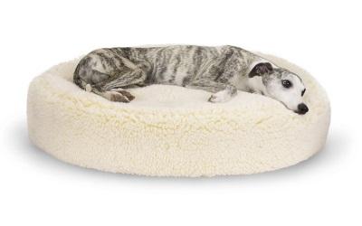 HuggleHounds HuggleFleece Huggle Snuggler Bed