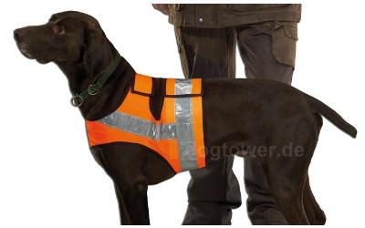 Hunde Reflektorweste, orange