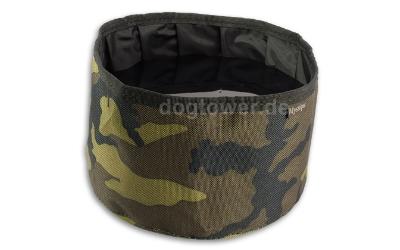 Camouflage Hundenapf