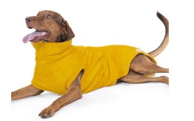 Hundebademantel von Lill's, amber