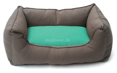 Wolters Hundebett Basic Dog Lounge, mocca/mint