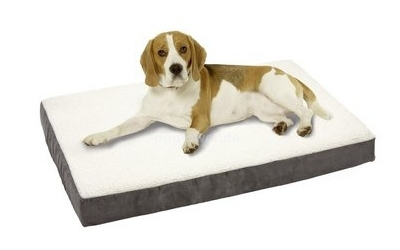 Hundematratze Ortho Bed, eckig, grau