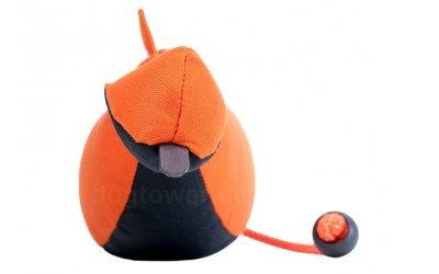 Mystique Bird Dummy, orange/schwarz
